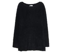 Texturierter Grobstrick-Pullover  // Curly Pull Black