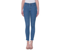 Cleane Skinny-Jeans  // Bodycon Alto