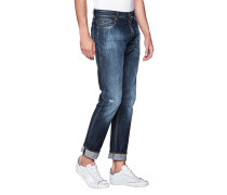 Schmale Selvedge Denim Jeans  // Unity Slim Blue