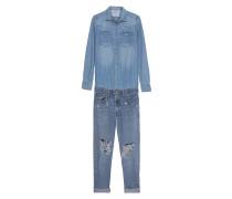 Vintage Worksuit Middies Blue