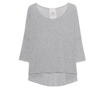 Shirt Lax 3/4 Sleeve Light Grey Melange