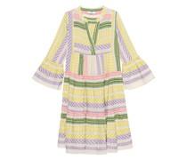 Besticktes Midi-Kleid
