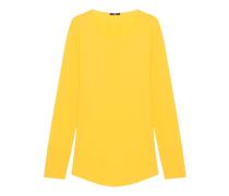 Baumwoll-Longsleeve  // Cruz Yellow