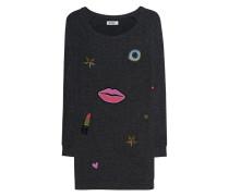 Sweatshirt-Kleid mit Print  // Bel Black