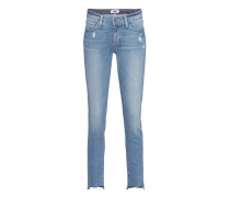 Destroyed Skinny-Jeans  // Skyline Ankle Peg Wiley