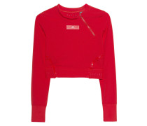 Cropped Sport-Longsleeve  // Train Clmch LS Red