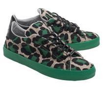 Sneakers im Animal-Look  // Ghepard Green