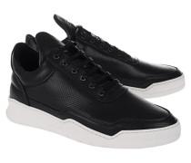 Perforierte Leder-Sneaker