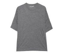 Cleanes T-Shirt  // Drop Shoulder Heather Grey