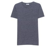 Baumwoll-Mix-T-Shirt  // Basic Navy