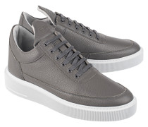 Low Top Leder Seakers  // Low Top Dress Cup Dark Grey