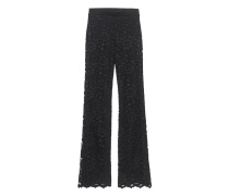 Spitzen-Hose  // Lace Pants Black