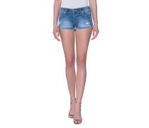 Jeans-Shorts mit offenem Saum  // Joey Cut Off Blue Wonder