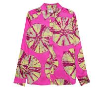 Bluse im Batik-Design