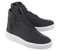 Hohe Leder-Sneakers