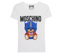T-Shirt mit Print  // Transformers Teddy White