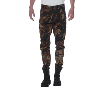 Gemusterte Chino-Hose  // Military Cargo Camouflage
