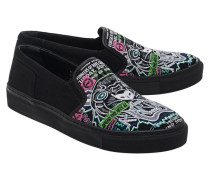 Bestickter Sneaker  // Tiger Jersey Black