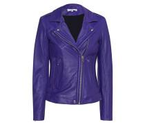 Biker-Jacke aus Leder  // Han Dark Purple