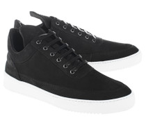 Low-Top Nubukleder-Sneakers  // Low Top Lane Matt Nubuck Black