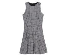 Kleid mit Glencheck-Karos  // Glencheck Black White