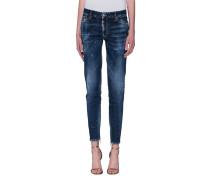 Mid-Waist Skinny-Jeans  // Medium Waist Twiggy Jean