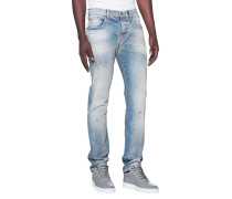 Jeans im Washed-Out-Look  // Chad Middlefield Blue