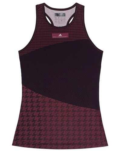 Gemustertes Sport-Top  // Train Miracle TA Burgundy