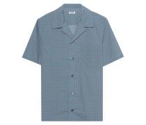 Gemustertes Kurzarm-Hemd