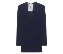 Kaschmir-Mix-Pullover  // Richmond Shirt Exposed Midnight Blue