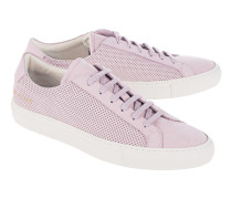 Flache Nubukleder-Sneakers  // Achilles Summer Edition Blush
