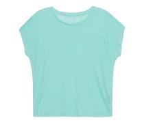 Lockeres Leinen-T-Shirt