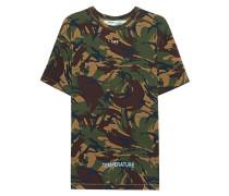 Bedrucktes Baumwoll-T-Shirt  // Arrows Camouflage
