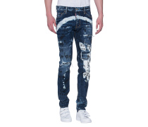 Bemalte Jeans  // Cool Guy Jean