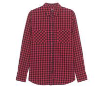 Plaid Utility Shirt Red Check