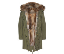 Echt-Fell Parka  // Patches Fur Lining Olive