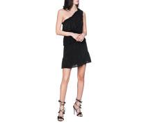 Asymmetrisches Seiden-Kleid