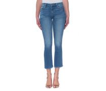 Baumwoll-Mix-Jeans  // Milana Jocelyn Blue