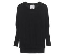 Baumwoll-Kaschmir-Pullover  // Sweat Buzzard Black