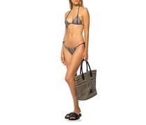 Bikini mit Kufiya-Musterung