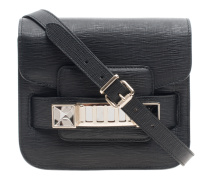 Texturierte Ledertasche  // PS11 Tiny New Linosa Black