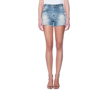 High-Rise Destroyed Jeans-Shorts  // The Sadie 17 Years Lapse Mended