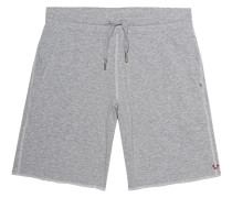 Baumwoll-Sweatshorts  // Destroyed Effects Grey Marl