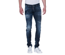 Destroyed Slim-Fit-Jeans  // Long Clement Jean