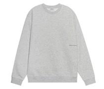 Sweatshirt mit Label-Wording