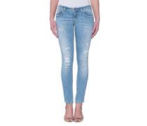 Skinny-Jeans im Destroyed-Look  // Lambda Campos
