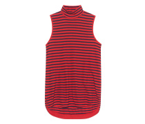 Turtle Neck Tank Red