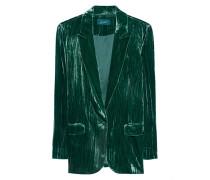 Lässiger Samt Blazer  // Blazer Velvet Emerald