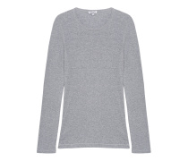 Schmales Jersey-Longsleeve  // One And One Long Grey