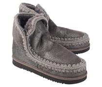Kurze Schafsleder Stiefel  // Eskimo Dust Iron